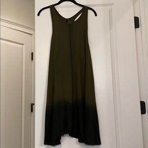 Racerback T-Shirt Dress